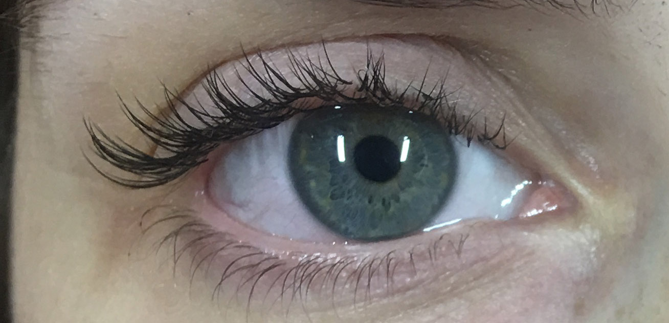 eyelash extensions process