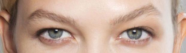 hooded eye shape