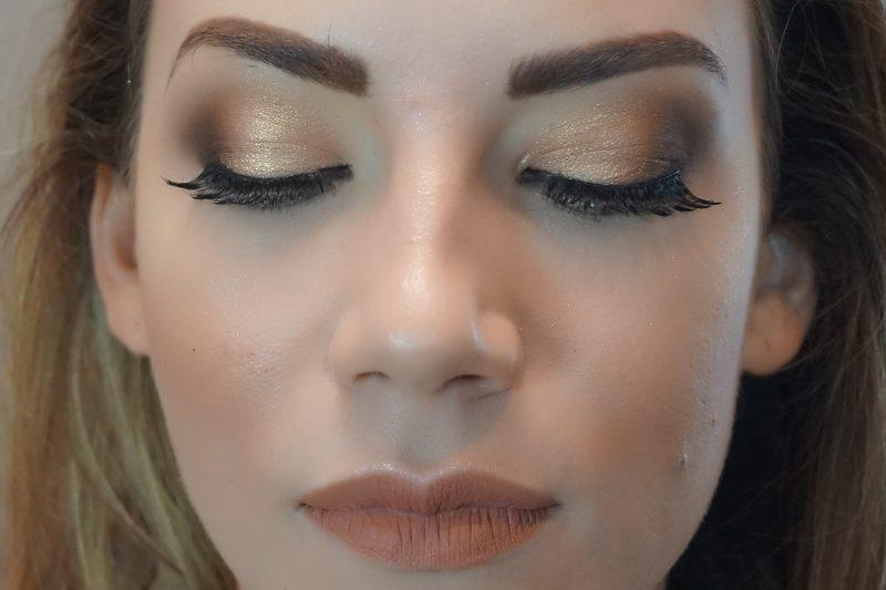 easy evening makeup