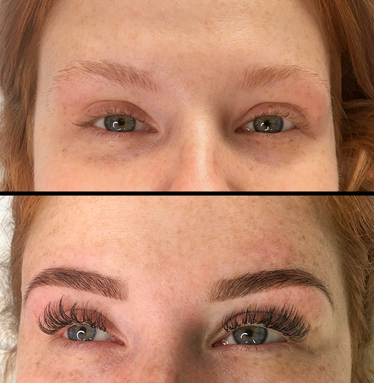 Henna Brows & Volume Lashes